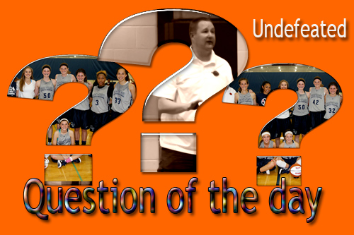 gprep question of the day, north tartan 14u undefeated